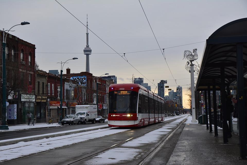 Public Transport in Toronto city