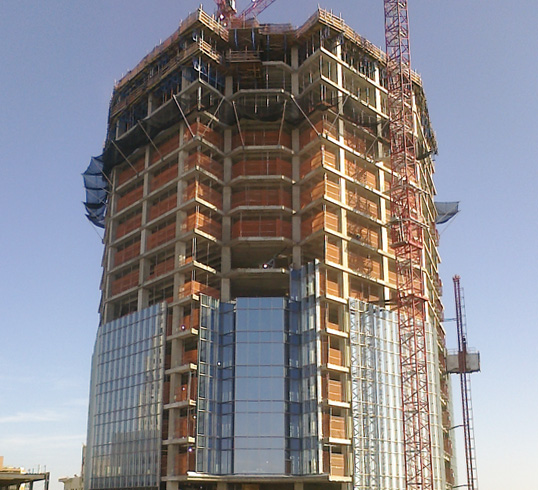 pre-construction building