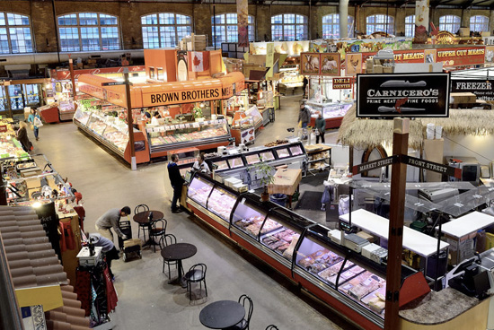 St. Lawrence Market view
